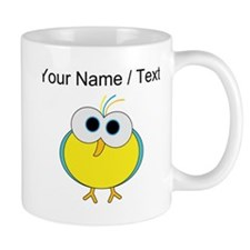 Custom Cartoon Tropical Bird Mugs