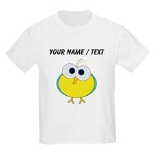 Custom Cartoon Tropical Bird T-Shirt