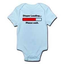 Diaper Loading Please Wait Body Suit