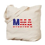 MMA USA Flag Tote Bag