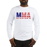 MMA USA Flag Long Sleeve T-Shirt