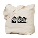 Chimp Feet Tote Bag