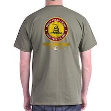(Dtom) Libertarian T-Shirt