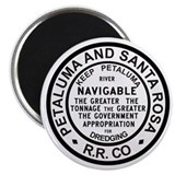 P &amp; SR RR Button Magnet