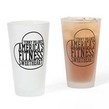 Americas Fitness Sweetheart Drinking Glass