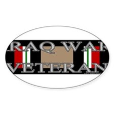 iraqwarveteranbumpersticker Decal