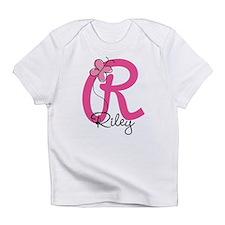 Personalized Monogram Letter R Infant T-Shirt