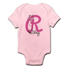 Personalized Monogram Letter R Infant Bodysuit
