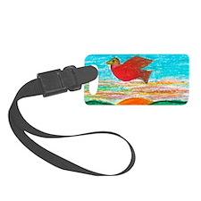 Red Bird Sun Seeker Luggage Tag