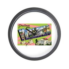 Virginia Greetings Wall Clock