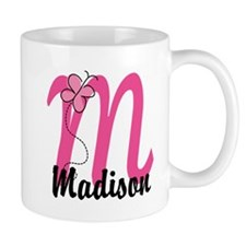 Personalized Monogram Letter M Mug