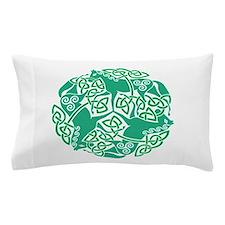 Celtic Irish Horses St Patrick's Day Pillow Case