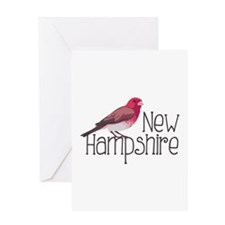 New Hampshire Finch Greeting Cards