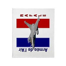 Dassault Rafale Throw Blanket