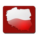 &quot;Poland Bubble Map&quot; Mousepad