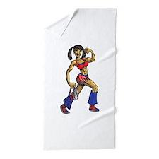 Jump Rope Yenny Beach Towel