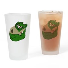 Sgt Gator  Drinking Glass