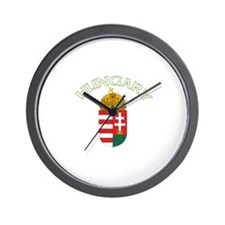 Hungary Coat of Arms (Dark) Wall Clock