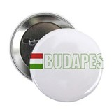 Budapest, Hungary Flag (Dark) Button