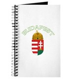 Budapest, Hungary Coat of Arm Journal