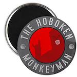 """Hoboken Monkeyman 2.25"""" Magnet (10 pack)"""