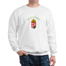 Budapest, Hungary Coat of Arm Sweatshirt