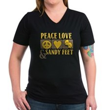 Peace, Love and Sandy Shirt