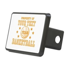 Personalized Property of Basketball Hitch Cover
