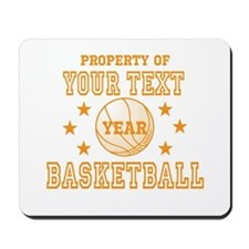 Personalized Property of Basketball Mousepad