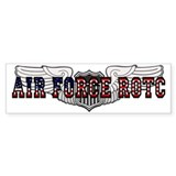 ROTC Pilot Wings Bumper Bumper Sticker