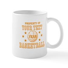 Personalized Property of Basketball Mugs