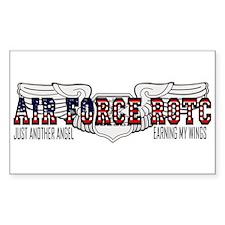ROTC Navigator Wings Rectangle Bumper Stickers