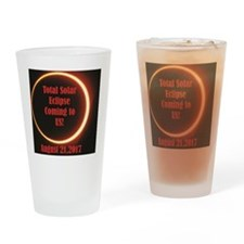 eclipse in US Drinking Glass