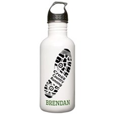 Brendan Cross Country Stainless Water Bottle 1.0l