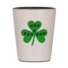 50th Birthday Irish Shot Glass