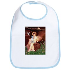 Angel & Bull Terrier Bib