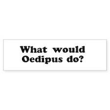 Oedipus Bumper Bumper Sticker
