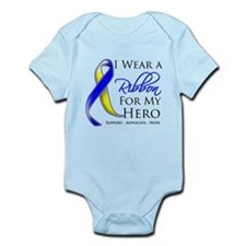 Ribbon Hero Down Syndrome Infant Bodysuit