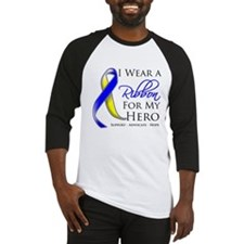 Ribbon Hero Down Syndrome Baseball Jersey