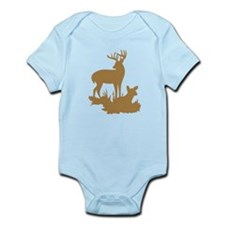 Brown Buck And Fawn Body Suit