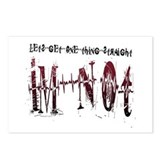 Get Straight Postcards (Package of 8)
