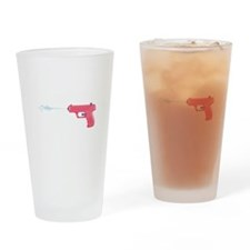 Water Gun Drinking Glass