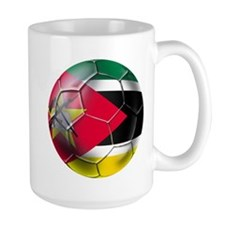 Mozambique Football Mug