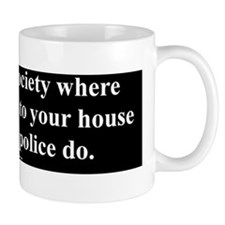 Pizza Before Police Mug