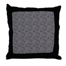 Chainmail Links Throw Pillow