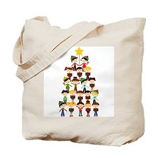 Christmas Carol Tote Bag