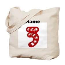 Personalized Christmas 3 Tote Bag