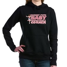 Baby in a Corner Women's Hooded Sweatshirt