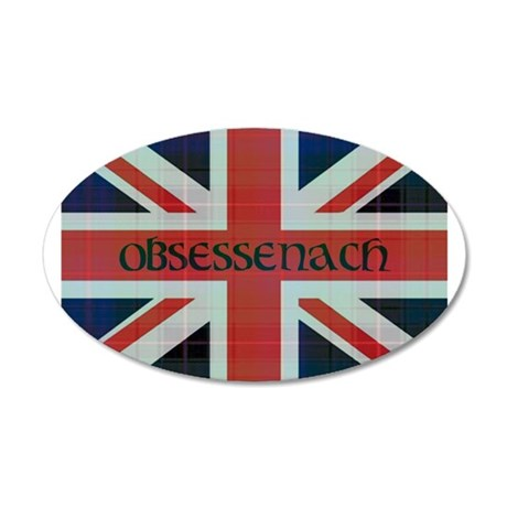 Basic Obsessenach 20x12 Oval Wall Decal