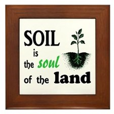 Soul of the Land Framed Tile